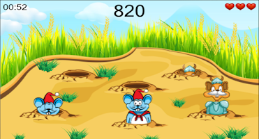 Screenshot of Beat Mouse Punch Mice Fun