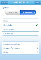 Screenshot of ReceptionHQ Answering Service
