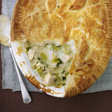 Deep-dish Chicken & Leek Pie