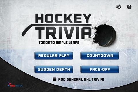 Hockey Trivia-Maple Leafs