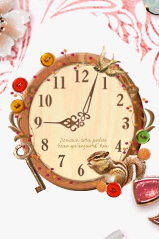 Squirrel-Made Clock