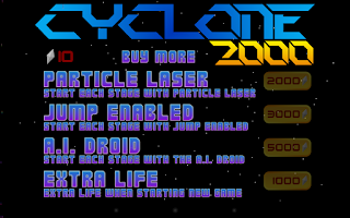Screenshot of Cyclone 2000 Free