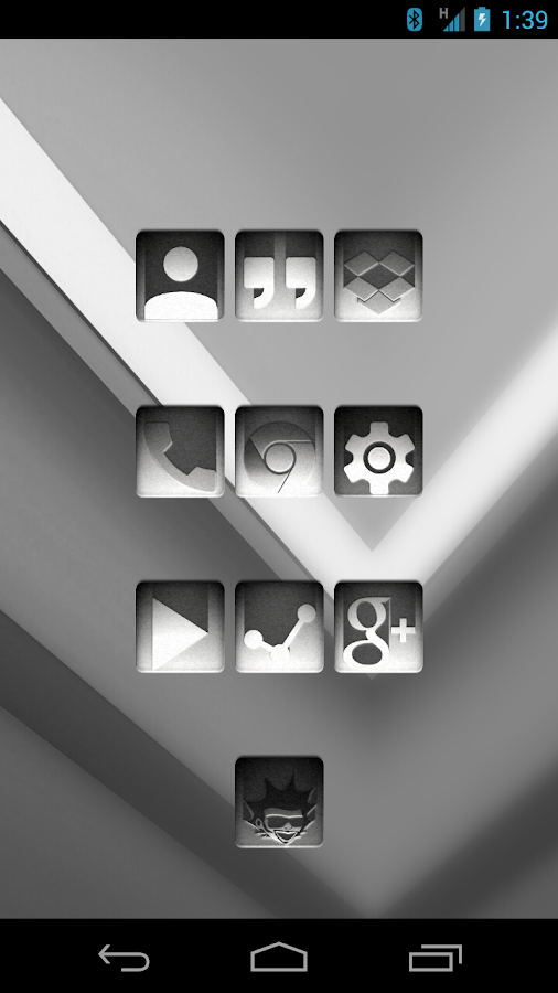 Tha Noir - Icon Pack Screenshot 0