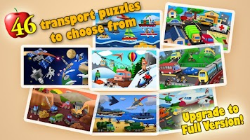 Screenshot of Transport Jigsaw Puzzles Free