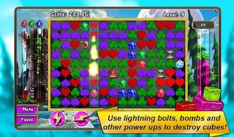 Screenshot of Cube Crash 2 - Actually Free