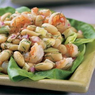 Cannellini Bean, Fennel and Shrimp Salad
