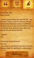 Screenshot of Tamil Bible Alarm