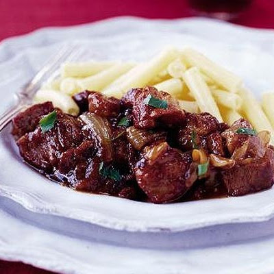 Braised Pork With Prunes