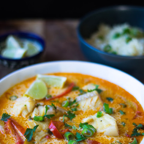 Brazilian Moqueca Fish Soup