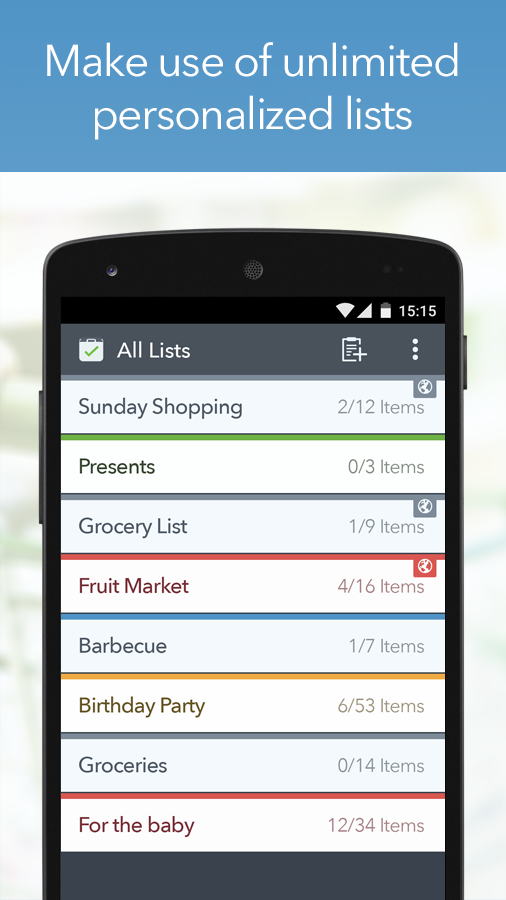 MyGrocery Screenshot 3