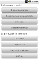 Screenshot of Economia Politica