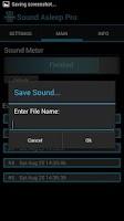 Screenshot of Sound Asleep Pro