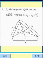 Screenshot of Geometri Formülleri 1 YGS LYS