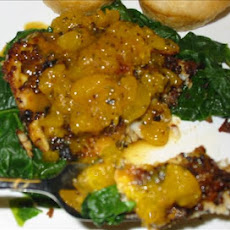 Orange-Sauced Tilapia