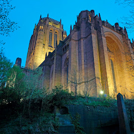 Liverpool Anglican Cathedral by Pete Titchen - Buildings & Architecture Architectural Detail ( cathedral liverpool )