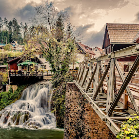 Slap by Vedran Bozicevic - City,  Street & Park  Street Scenes ( rastoke, waterfall, slunj,  )