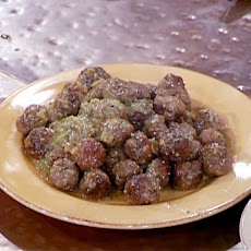 Lamb Meatballs in Almond Sauce