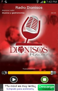 Radio Dionisos - screenshot