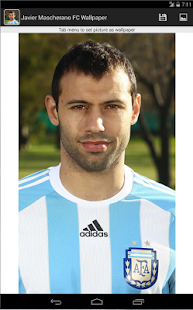 Javier Mascherano FC Wallpaper - screenshot