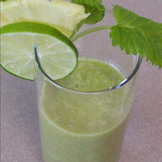 Kiwi, Pineapple, Mint,* Lime  Juice