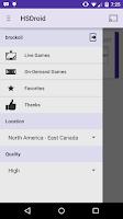 Screenshot of HSDroid