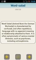Screenshot of Medical Psychiatric Dictionary