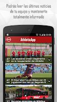 Screenshot of AthleticApp