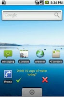Screenshot of Daily Task Alert Widget