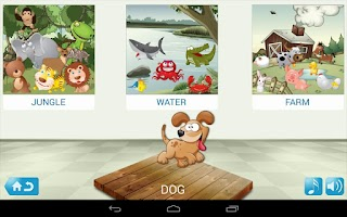Screenshot of Sorting n Learning game 4 Kids