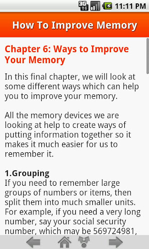 【免費健康App】How To Improve Memory-APP點子