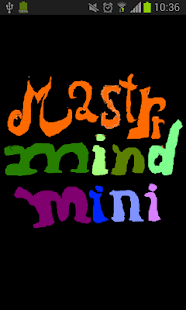 MastrrMind mini - screenshot