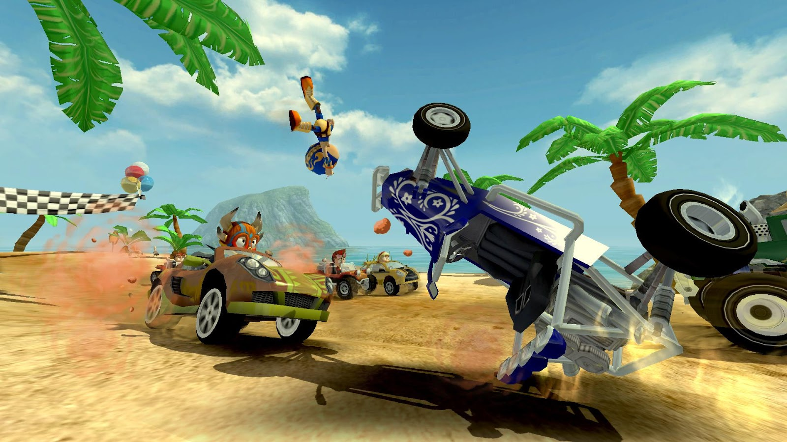 Beach Buggy Racing Screenshot 10