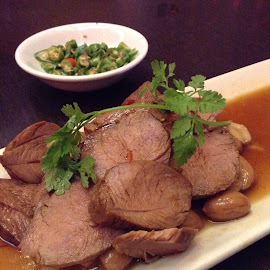Spiced lamb by Lilian Yong - Food & Drink Plated Food