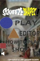 Screenshot of SqueezeShapes!