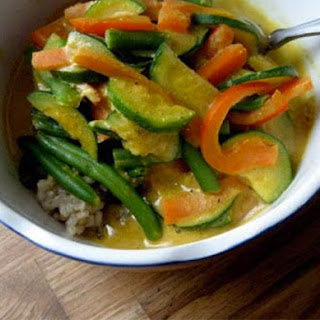 Almond Butter Vegetable Curry