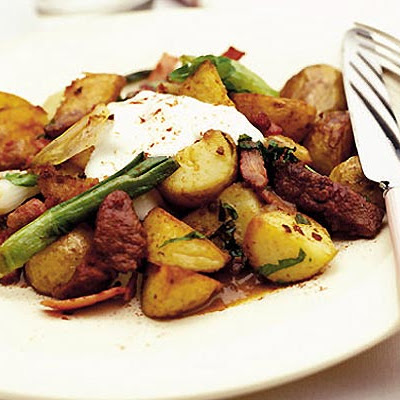 Liver & Bacon Sauté With Potatoes & Parsley