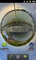 Screenshot of Panorama Live Wallpaper