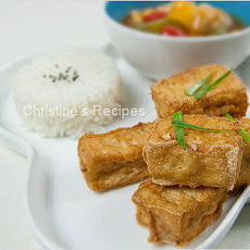 Sweet and Sour Fried Tofu