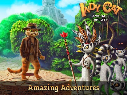 Game Indy Cat Match 3 1.39 APK for iPhone