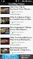 Screenshot of American Casino Guide