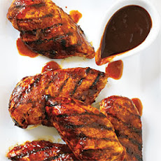 Grilled Chicken with Cola Sauce