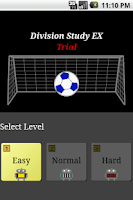 Screenshot of Division Study EX Trial