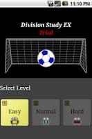 Screenshot of Division Study EX Trial