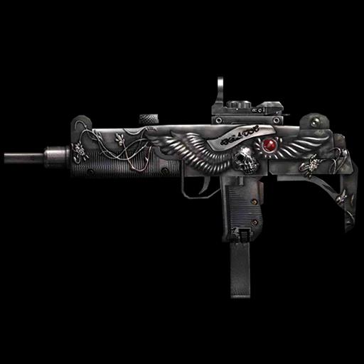 烏茲機槍 LOGO-APP點子