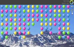 Screenshot of Balloon pop