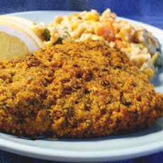 Garlic-Crusted Cod Fish