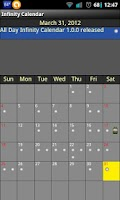 Screenshot of Infinity Calendar