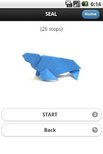 Aquarium Origami Sample - screenshot