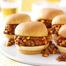 Summer Smokin' Sloppy Joes