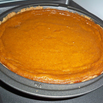 Pumpkin Pie with Shortbread Crust